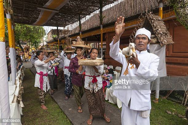 Balinese tooth filing ceremony