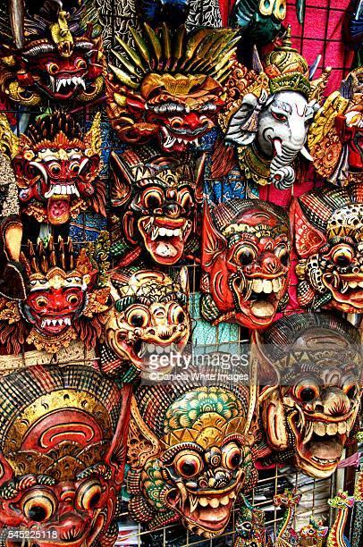 Balinese Wall Masks