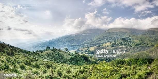 balkan landscape (xxxl) - kosovo stock pictures, royalty-free photos & images