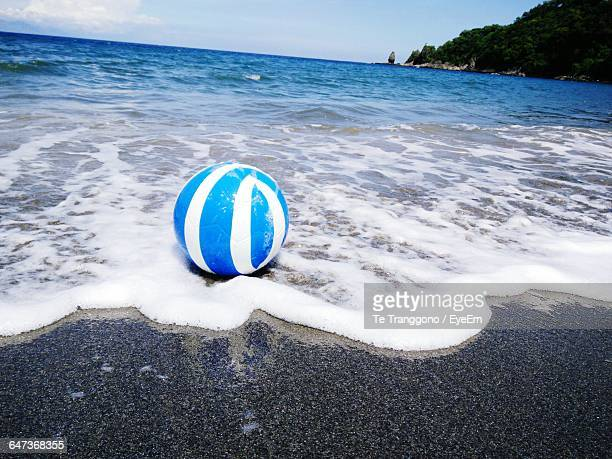 Ball At Beach