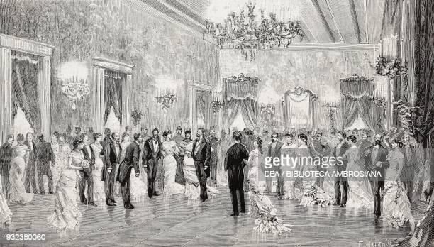 Ball at the Italian Embassy in Istanbul given by Count Corti for the English ambassador Frederick HamiltonTempleBlackwood 1st Marquis of Dufferin...