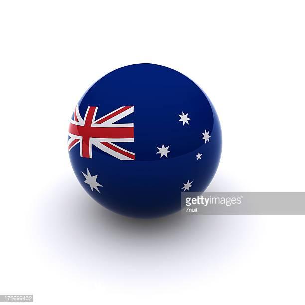 3D Ball - Australia Flag