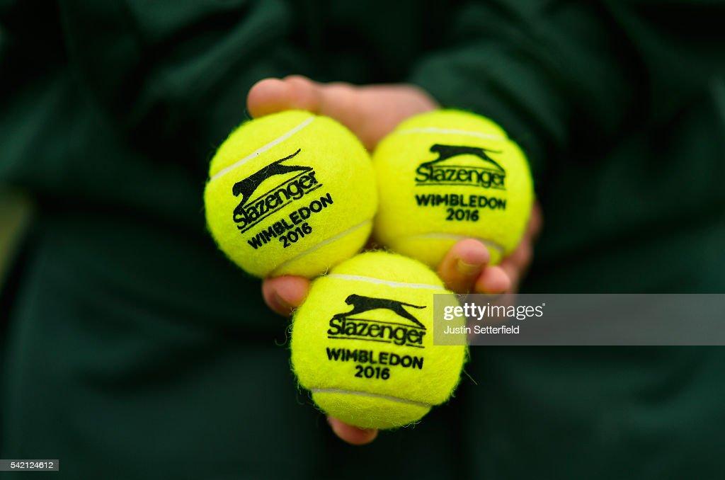 2016 Wimbledon Qualifying Session : News Photo