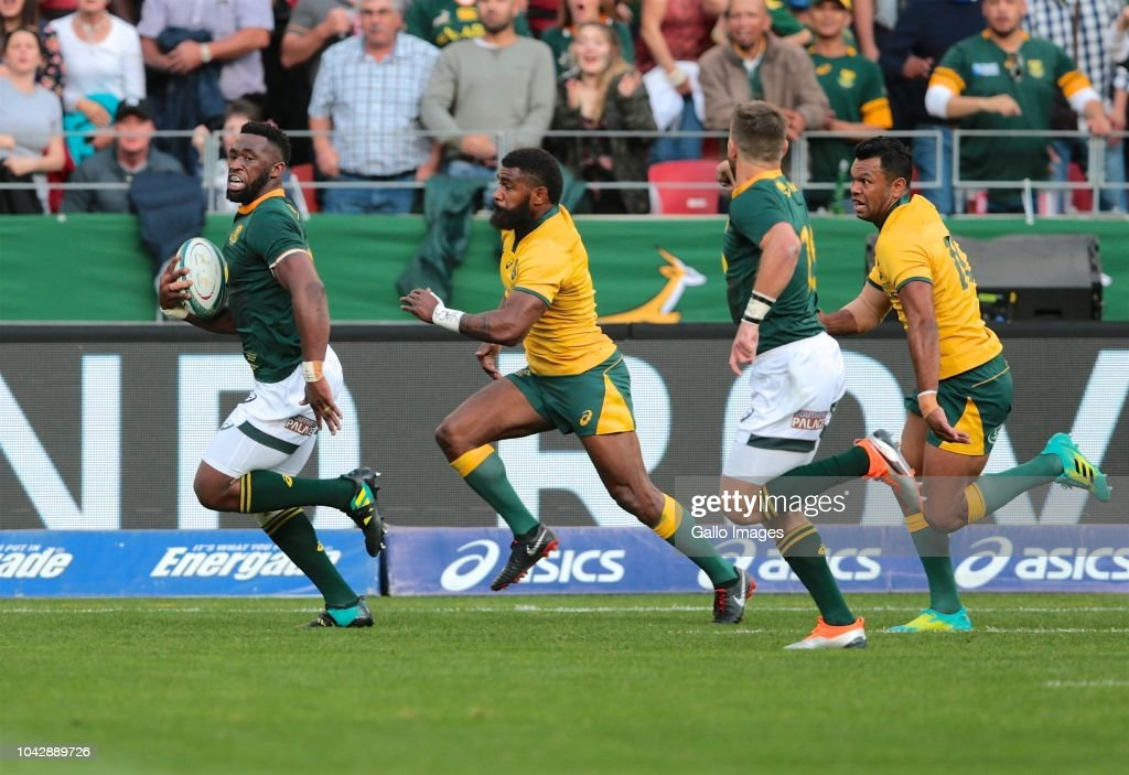 The Rugby Championship 2018: South Africa v Australia : News Photo