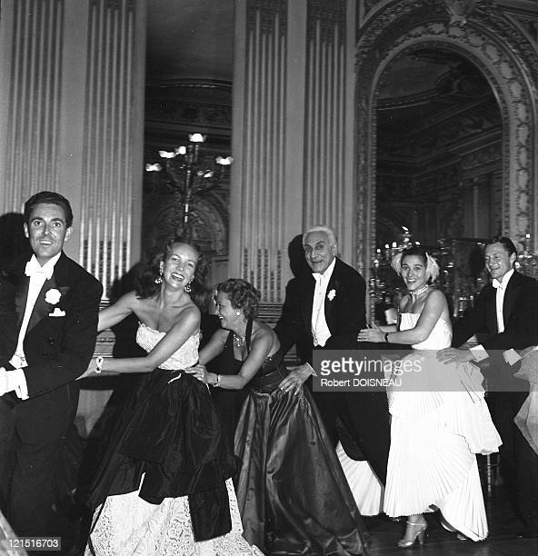 Ball Count And Countess Etienne De Beaumont June 19 1950