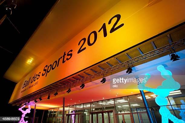 ball des sports 2012, wiesbaden - ollo stock-fotos und bilder