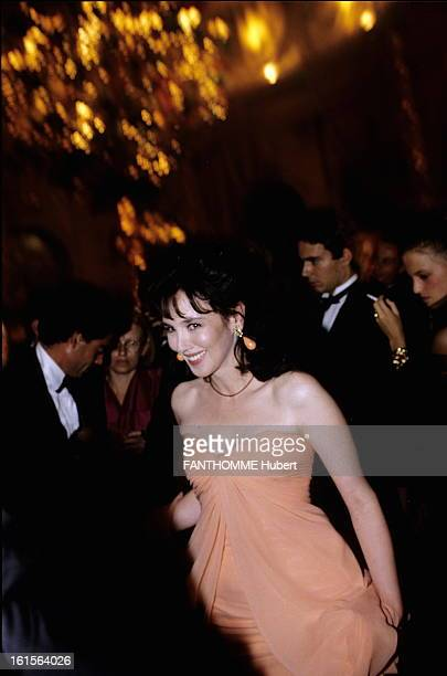 Ball For Dune Dior New Perfume September 1991 Ball gives to launch the new perfume Dune by Christian Dior at the Chateau de VauxleVicomte Isabelle...