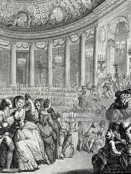 Ball in Paris on the occasion of the birth of the Dauphin France 18th century