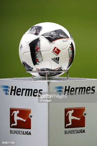 ball logo bundesligaduring the Bundesliga match between 1 FC Koln and Bayern Munich on March 04 2017 at the RheinEnergie Stadium in Koln Germany