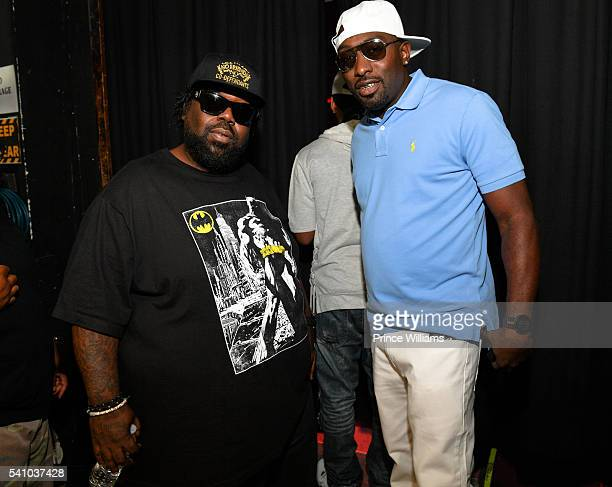 Ball MJG attend the Birthday Bash ATL Classic Hip Hop Concert at The Tabernacle on June 17 2016 in Atlanta Georgia