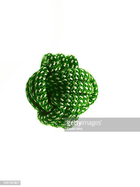 Ball of green rope