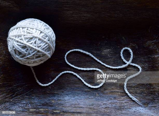 Ball of Yarn Unraveling