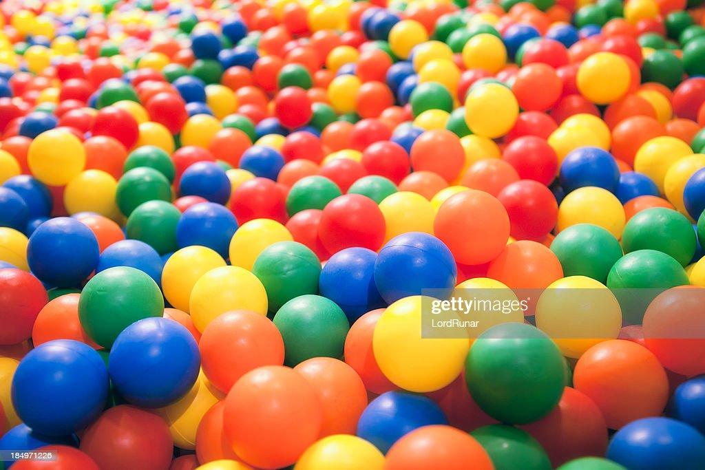 Piscina di palline : Foto stock