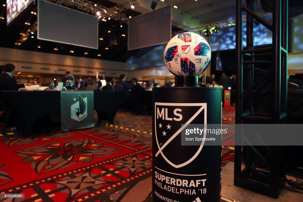 SOCCER: JAN 19 MLS SuperDraft : News Photo