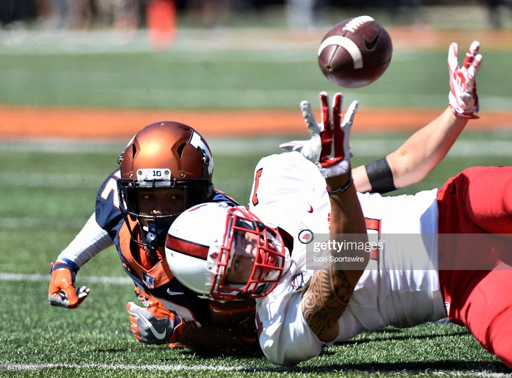 COLLEGE FOOTBALL: SEP 02 Ball State at Illinois : News Photo