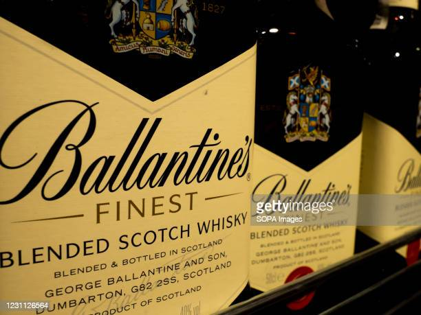 Ballantine's is a range of Blended Scotch whiskies produced by Pernod Ricard in Dumbarton, Scotland. The Ballantine's flavour is dependent on...