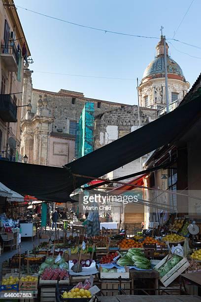 Ballaro street market in Palermo