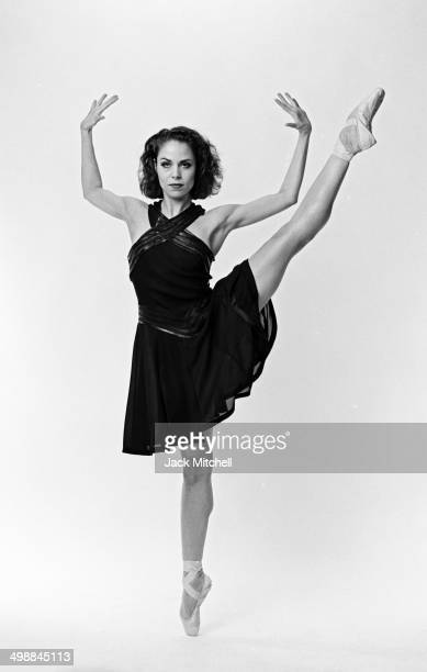Balleriana Susan Jaffe of the American Ballet Theatre performs, 1992.