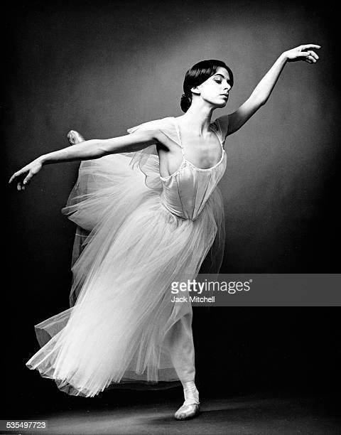 Ballerina Alessandra Ferri performing 'Giselle' in 1987