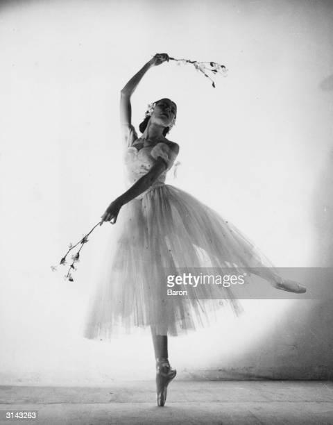 Ballerina Alicia Markova as Giselle.