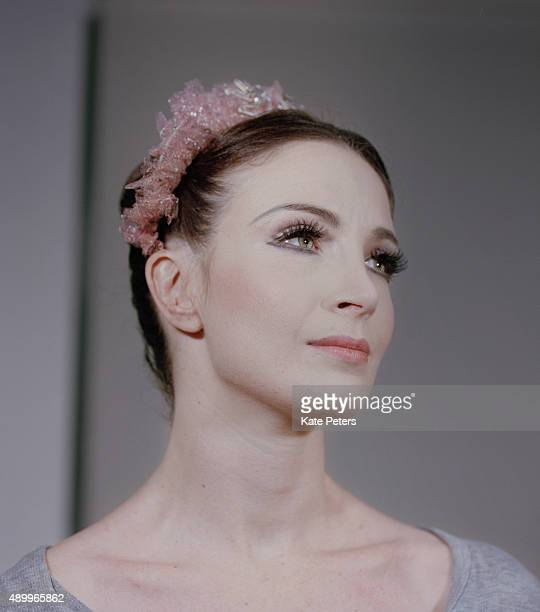Ballerina and a principal dancer with the Royal Ballet Lauren Cuthbertson is photographed for the Guardian on February 27 2014 in London England