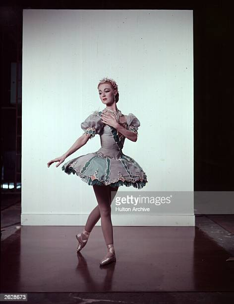 Ballerina and actress Moira Shearer in a scene from the film 'The Man Who Loved Redheads'