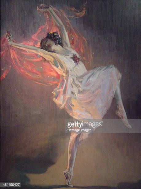 Ballerina Anna Pavlova 1910s From a private collection