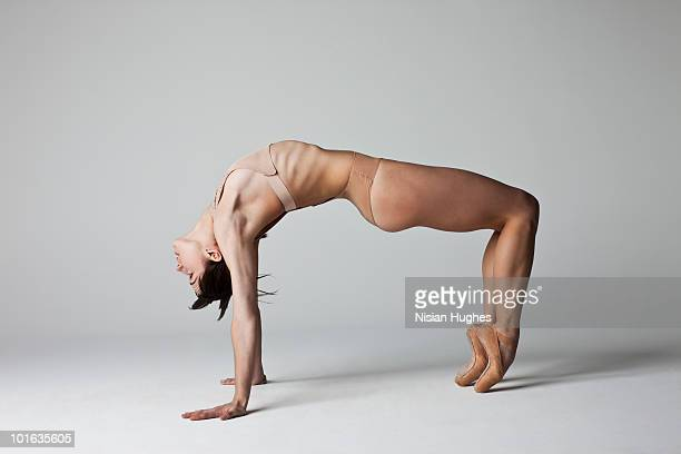 ballerina back bending
