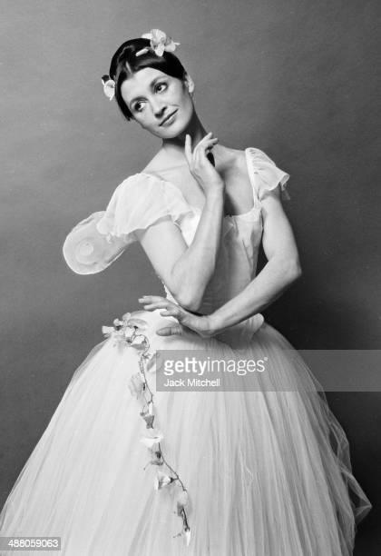 Ballerina Carla Fracci photographed in May 1967