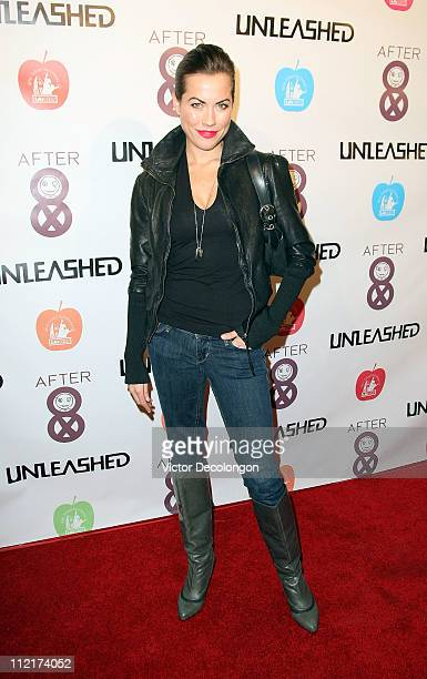 Ballerina Carrie Lee Riggins attends 'Unleashed Magazine Celebrates Cultural Icon Graffiti Pioneer Fab 5 Freddy' event on April 13 2011 in Hollywood...