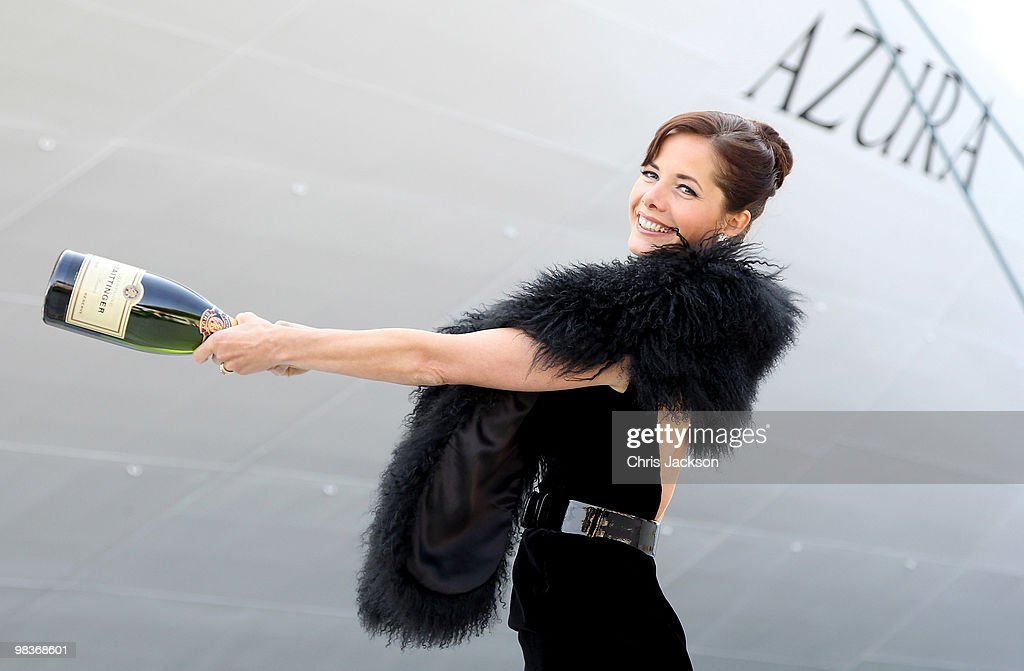 Darcey Bussell Names P&O Ship - Azura Ceremony : News Photo