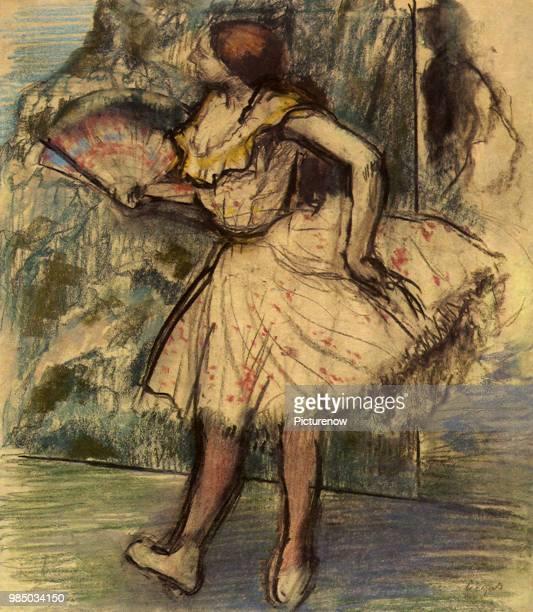 Ballerina Fanning Degas Edgar