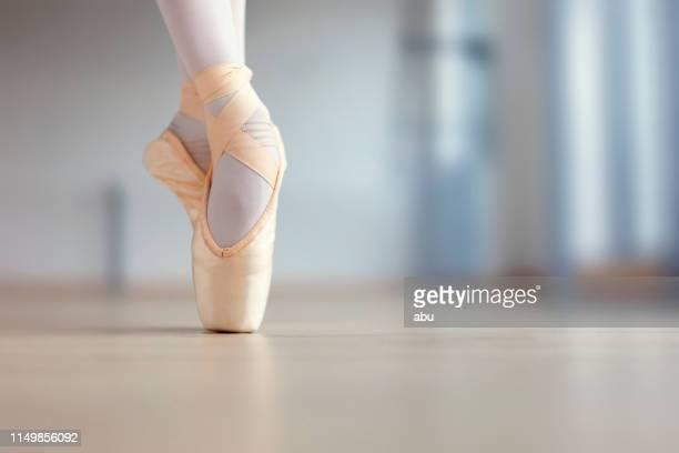 ballerina feet - ballerina feet stock photos and pictures