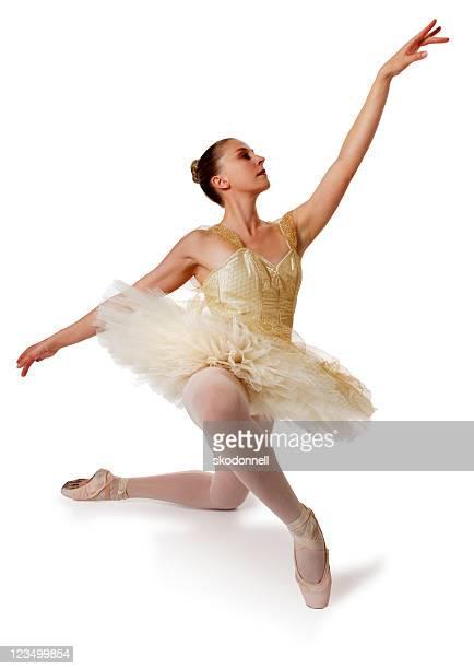 Ballerina Isolated on White