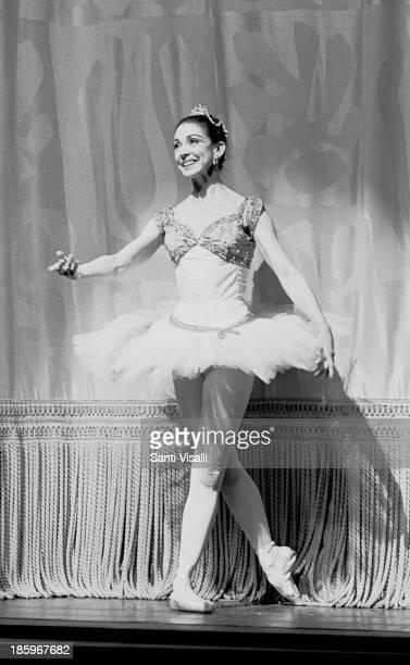 Ballerina Margot Fonteyn on stage on May 231969 in New York New York