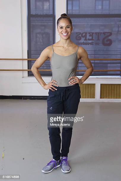 Ballerina Misty Copeland at Steps On Broadway at PS 284 Gregory Jackson on March 21 2016 in New York City