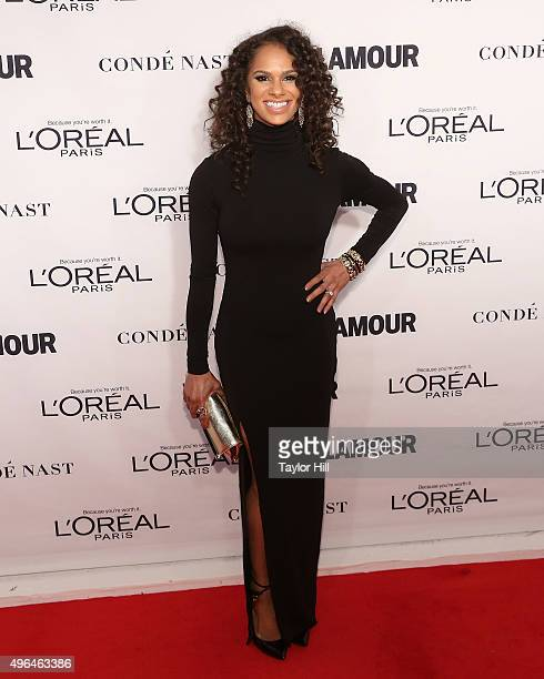 Ballerina Misty Copeland attends Glamour's 25th Anniversary Women Of The Year Awards at Carnegie Hall on November 9 2015 in New York City
