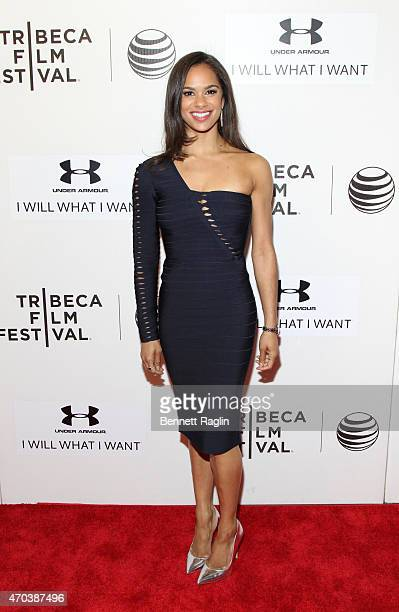 Ballerina Misty Copeland attends the World Premiere of the documentary 'A Ballerina's Tale' during the 2015 Tribeca Film Festival at BMCC Tribeca PAC...