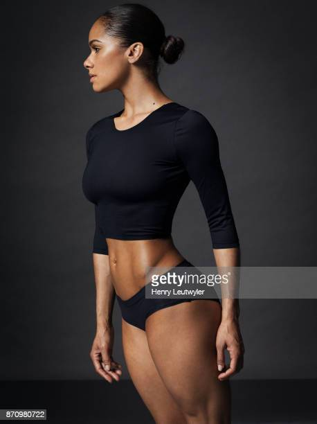 Ballerina Misty Copeland is photographed for Self Assignment on April 25 2016 in New York City