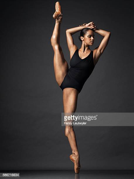 Ballerina Misty Copeland is photographed on April 25 2016 in New York City