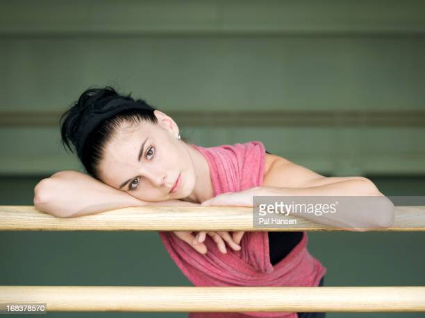 Ballerina Natalia Osipova is photographed for the Sunday Times on September 21 2012 in London England