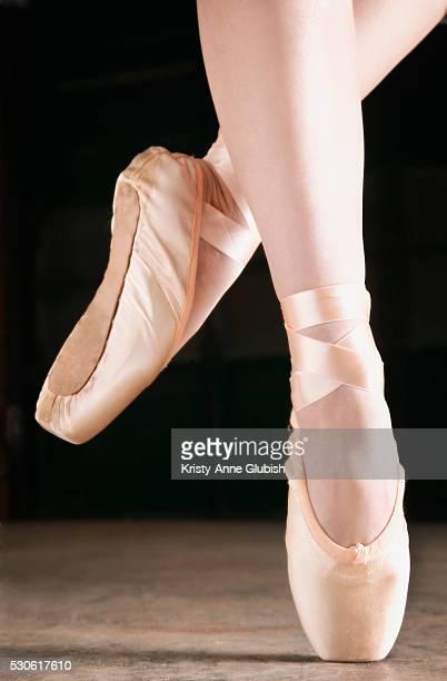 Ballerina on Toe