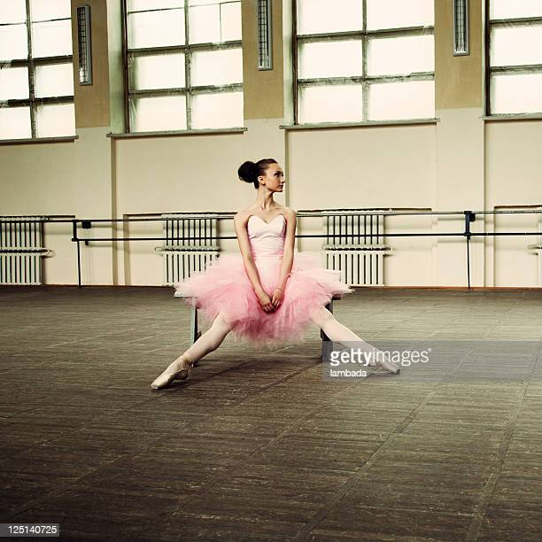 ballerina - legs spread woman stock photos and pictures