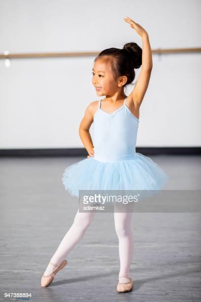 ballerina practicing in dance studio - ballet dancer stock pictures, royalty-free photos & images