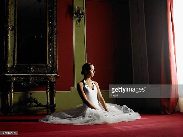 Ballerina Sitting by Window