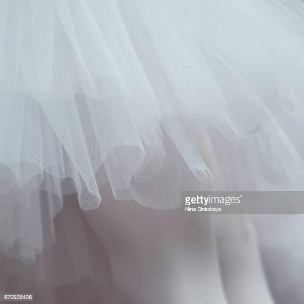 Ballerina skirt from underneath