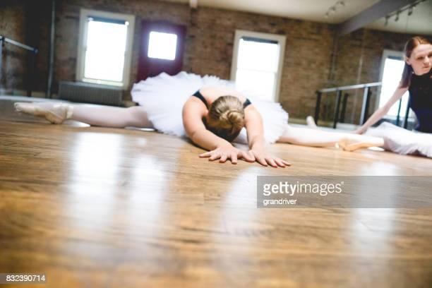 ストレッチバレリーナの床