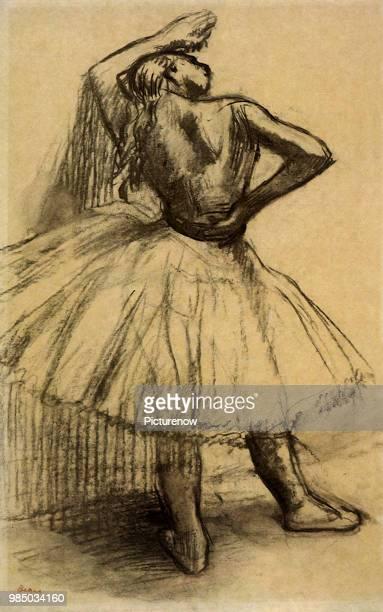 Ballerina Takes a Break Degas Edgar