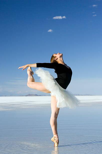 Ballerina Tip Toe Pose