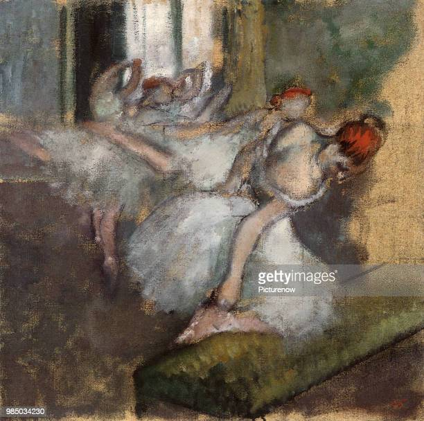 Ballerinas at Practice Degas Edgar